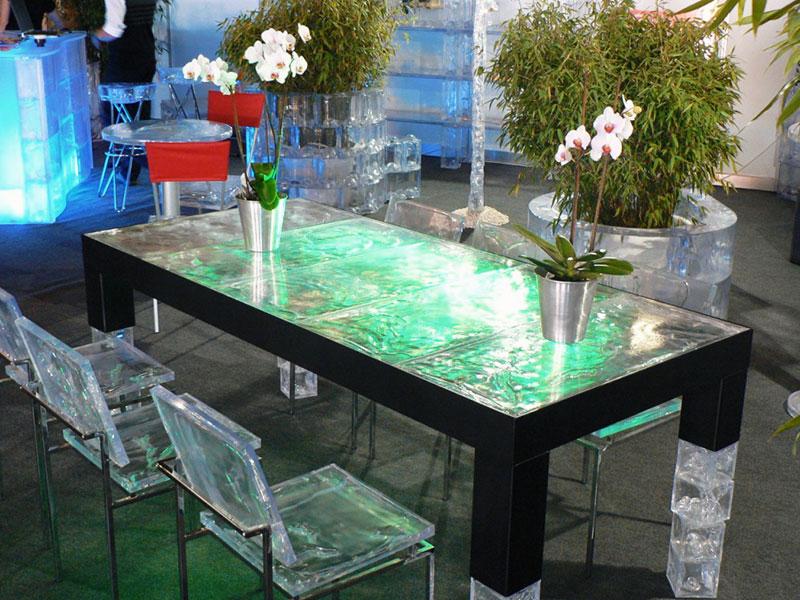 Eisdesign Tischmöbel - GEOTEC
