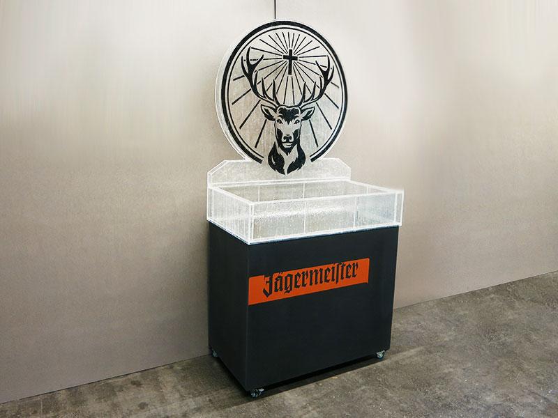 Eisdesign Sonderbau Jägermeister - GEOTEC