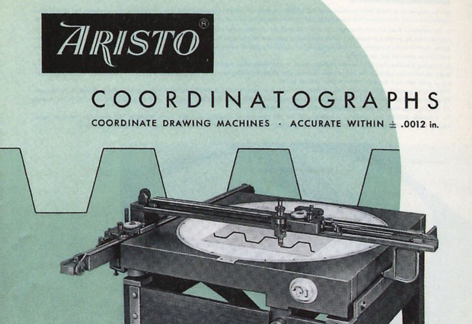 1959 - Coordinatographs
