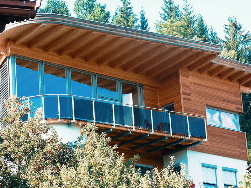 Kunststoff in der Architektur - Terrasse